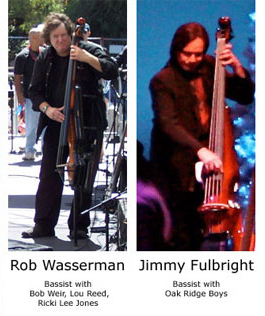 Rob Wasserman and Jimmy Fulbright