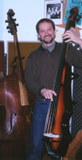John Knutson playing Messenger Bass